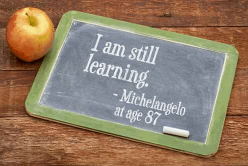 I am still learning - michelanglo